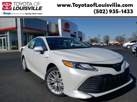 New 2020 Toyota Camry Hybrid XLE FWD
