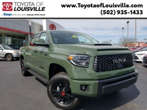 New 2020 Toyota Tundra TRD Pro CrewMax 5.5' Bed 5.7L (Natl) 4WD
